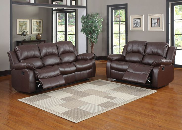 Modern Sofa Bay Double Reclining Loveseat Sofas GNT