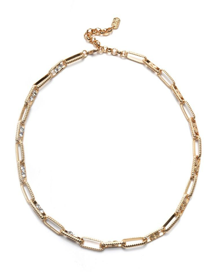 ASCH   Elongated Necklace in Gold -  - Style36