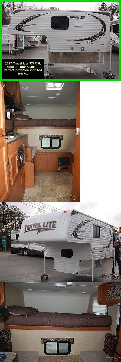 rvs: 2017 Travel Lite Super Lite 770Rsl Slide In Truck Camper 1/2 Ton Short Bed Rv -> BUY IT NOW ONLY: $15115.0 on eBay!