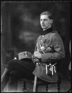 Prince Nicholas of Romania (1903-1978) was the second son of King Ferdinand & Queen Marie of Romania. He was the younger brother of Carol, heir apparent, who renounced his rights of succession in 1925. When Ferdinand died in 1927, he was succeeded as king by Carol's five year-old son, Michael; Nicholas himself had been proposed as heir-apparent when Carol married the commoner Zizi Lambrino in 1918 (a marriage later annulled).