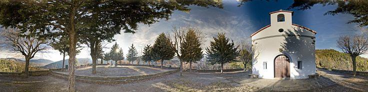 Ermita de Sant Miquel » Panoràmiques » viewat.org
