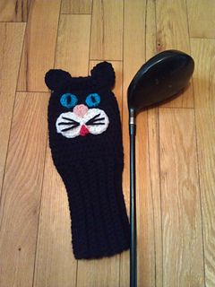 Golf Club Cover pattern by Susan Wilkes-Baker