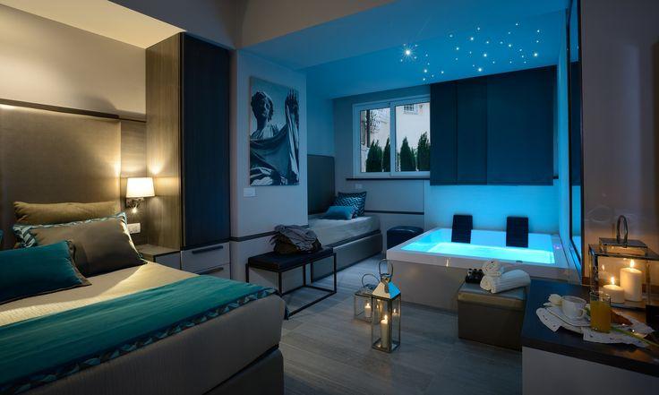 I migliori hotel con vasca idromassaggio in camera a Roma