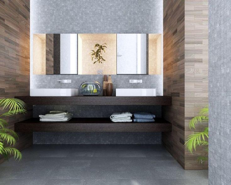 Badezimmer fliesen steinoptik grau  Die besten 25+ Graue badfliesen Ideen nur auf Pinterest