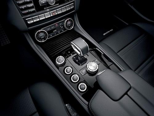 2012 Mercedes CLS 63 AMG interior.