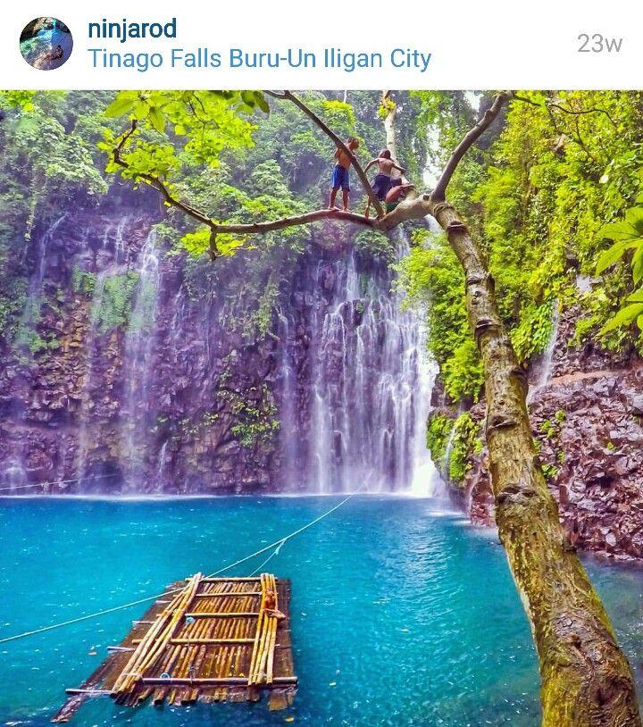 Tinago Falls Buru-Un lligan City