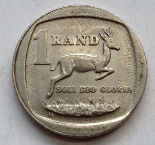 1 Rand South africa 1995 Suid Afrika animal coin