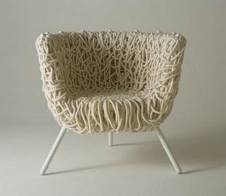 Vermelha Chair by Humberto and Fernando Campana.