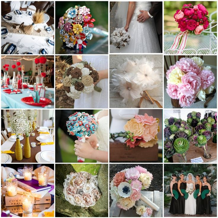 175 best Wedding Flower Alternatives images on Pinterest | Wedding ...