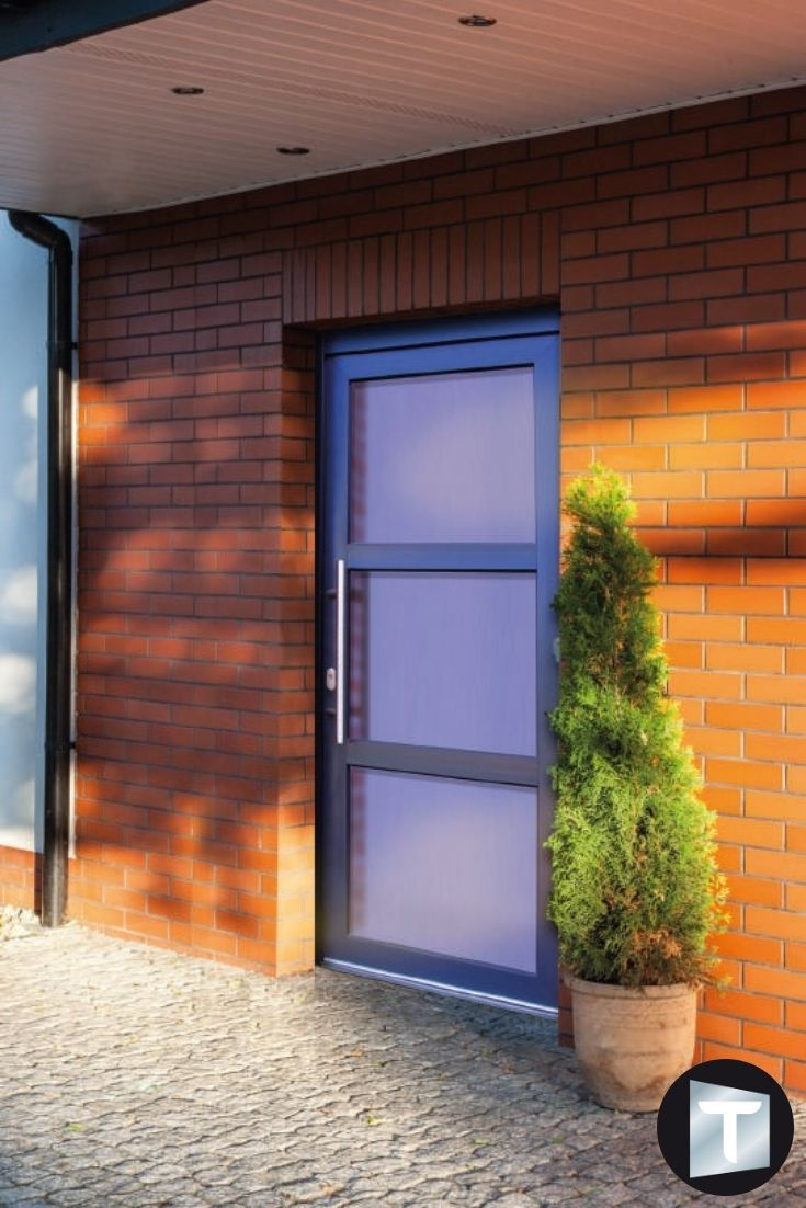 Porte Entree Vitree Opaque belle porte d'entrée entièrement vitréé. elle dispose d'un