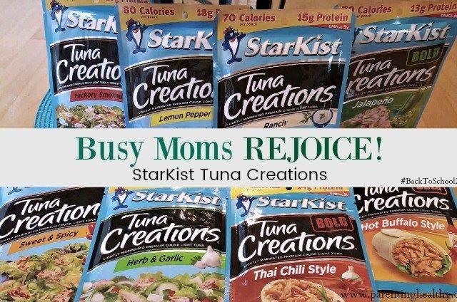 Busy Moms Meal – StarKist Tuna & Salmon Creations