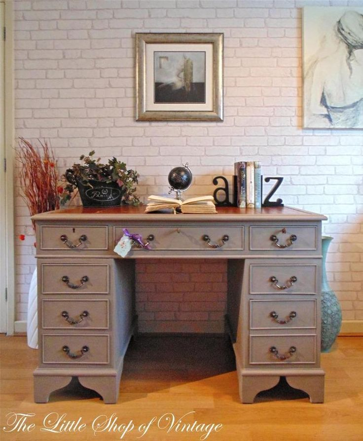 7 Best Leather Inlay Desk Images On Pinterest Furniture