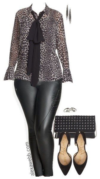 Plus Size Happy Hour Outfit - Plus Size Fashion for Women - alexawebb.com