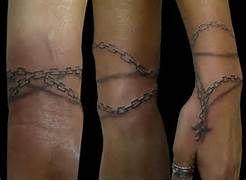 Arm Hands Rosary 3d Tattoo by Medusa Tattoo