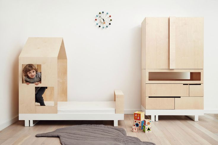 In love with this house bed! A great way to add fun to your kids' room