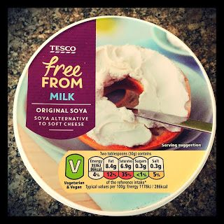 MichelaIsMyName: Tesco Free From Milk Original Soya Soft Cheese