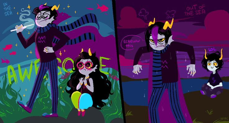 gamzee and eridan love - photo #4