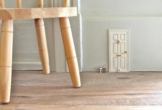 How to add a fairy door in your home - simple  ***********************************************  KatesCreativeSpace - #fairy #door t√