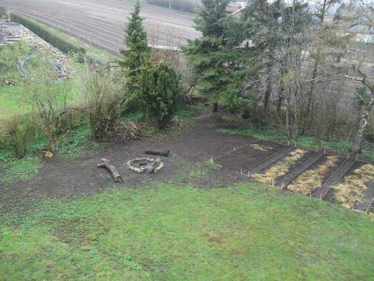 Sådan ser haven ud anno 06.04.2014