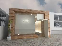 fachadas com porcelanato que imita madeira - Pesquisa Google