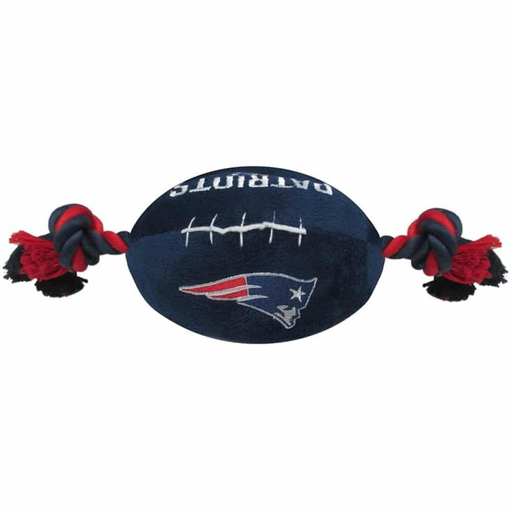Shop where every purchase helps shelter pets! New England Patriots Football Dog Toy - from $12.85