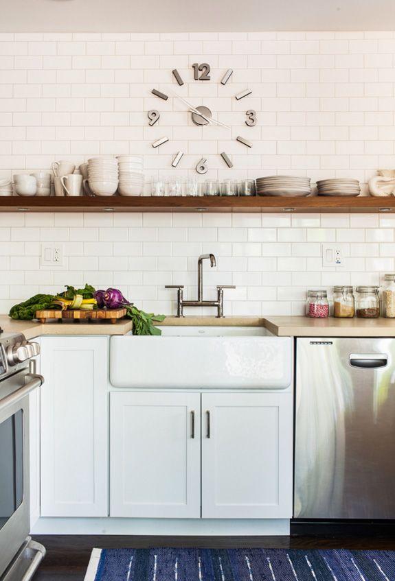 160 best Küche images on Pinterest Kitchen, Kitchen dining and - küche ohne oberschränke