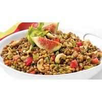 Salade de lentilles méditerranéenne  