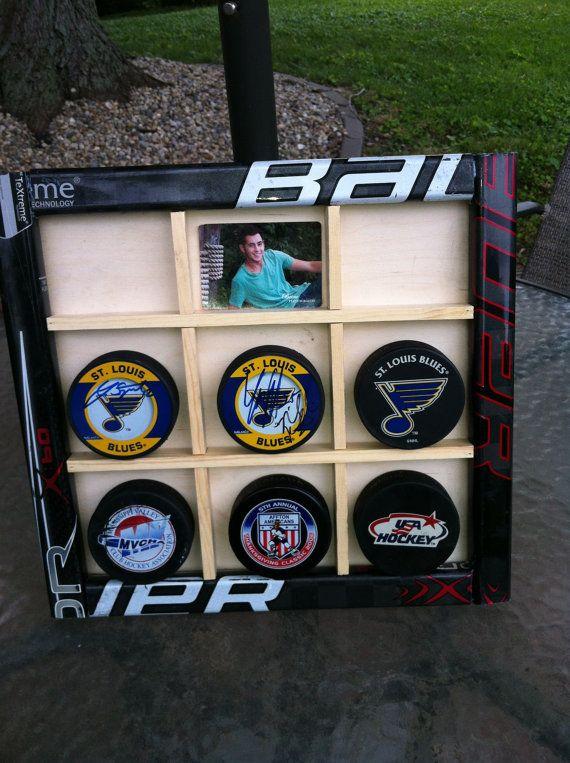 Hockey Stick Display Case