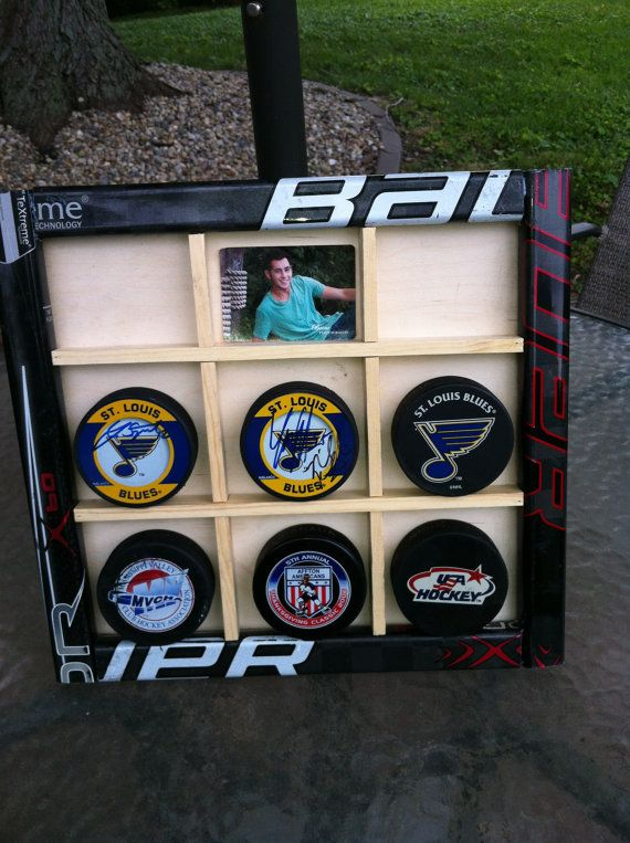 Hockey Stick Display Case by TheStickdoctor on Etsy, $35.00
