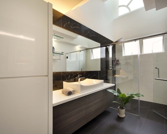 Modern Bathroom Master Suite Design, Pictures, Remodel