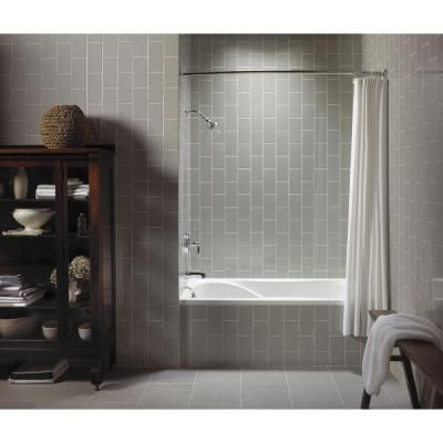 Alcove Tub With Tile Front Home Design Pinterest