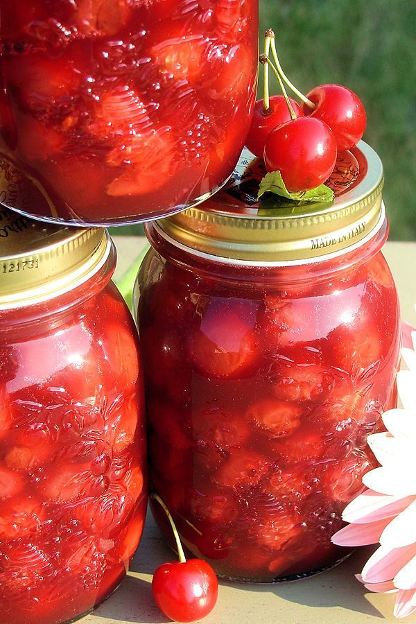 Homemade Tart Cherry Pie Filling by WickedGoodKitchen.com ~ A retro recipe revamped using much easier tapioca flour/starch by Bob's Red Mill. No more whacking tapioca pearls with your rolling pin!
