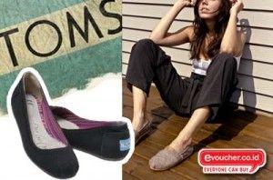 Tampil lebih trendy dengan sepatu toms flat hanya dengan Rp. 125,000 - www.evoucher.co.id #Promo #Diskon #Jual   klik > http://evoucher.co.id/deal/toms-shoes-flat  Toms Shoes sepatu trendy yang nyaman digunakan, berat sepatu ini ringan sehingga kamu serasa tidak pakai sepatu tetapi bikin kamu penuh gaya. yuk beli dan pakai Toms Shoes    Pengiriman akan dilakukan mulai 06 November 2013