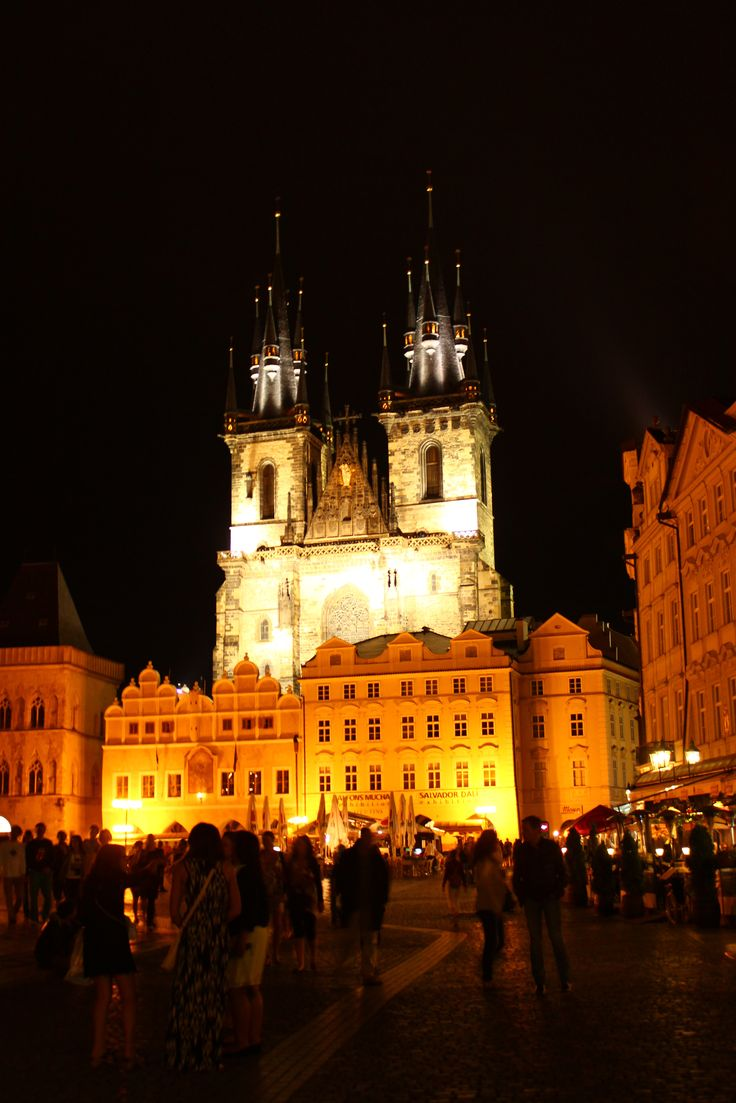Prag Square, Czech Republic.