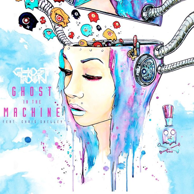ghost in the machine by ghost town art by Imamachinist aka Alister Dippner