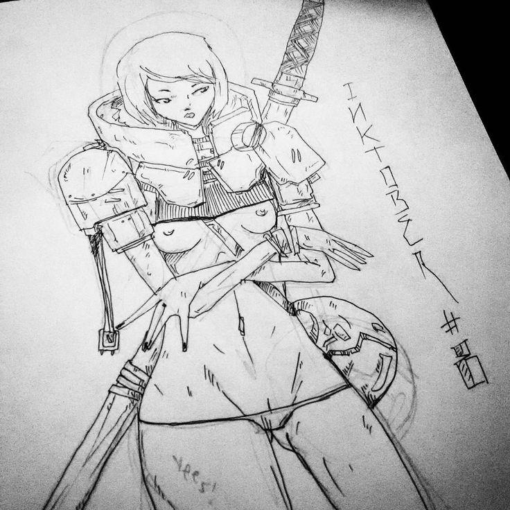 Jay Cansone - Inktober 08 - illustration