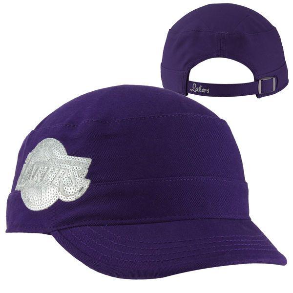 '47 Brand Los Angeles Lakers Women's Sparkle Fidel Adjustable Cadet Hat - Purple, Your Price: $24.99