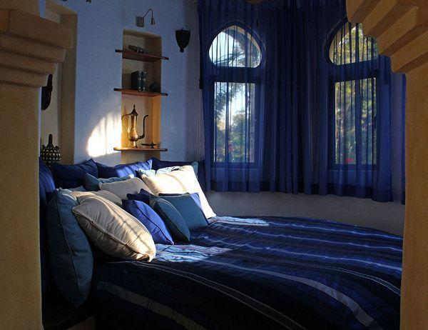 спальня в восточном стиле фото 3