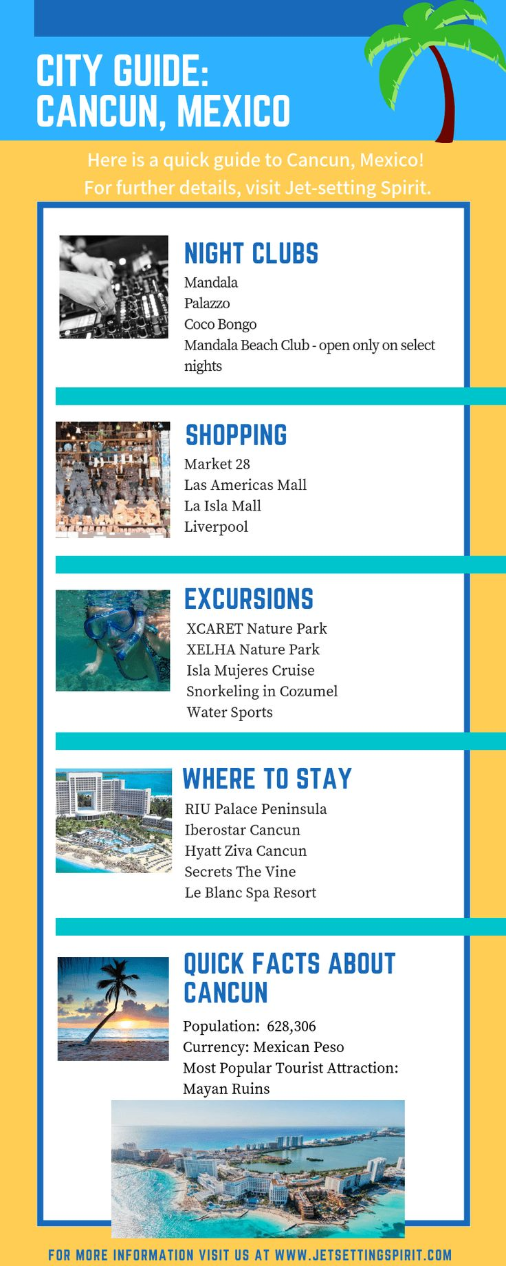 Cancun- a City Guide (Nightlife, shopping, and culture)