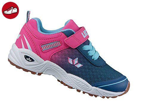 Lico Barney VS Teens Pink/Blau Gr. 39 Klettverschluss Schule Sport Kinderschuh - Lico schuhe (*Partner-Link)
