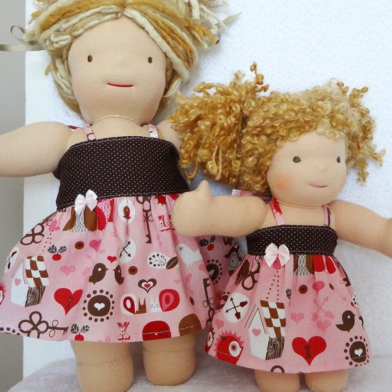 Valentine doll dress available for many doll sizes, by #mylittlepoppyseed - Visit and like my Facebook page and my Etsy shop - Bienvenue dans ma boutique!  https://www.facebook.com/MyLittlePoppySeedCreations  https://www.etsy.com/ca/shop/mylittlepoppyseed