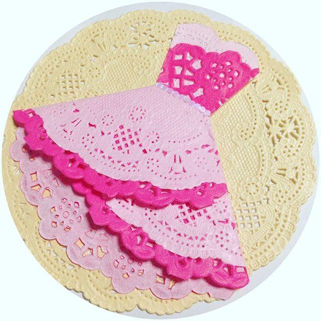 ♡レースペーパードレス♡ 作り始めたらハマりました ピンク2色のドレス٩(๑❛ᴗ❛๑)۶ 組み合わせ次第でどんなドレスにもなる こういうのがDIYの楽しみなのかな? ✩ #ゆりwdDIY #結婚式diy #happy #wedding #bridal #dress #pink #cute #プレ花嫁 #結婚式準備 #レースペーパー #レースペーパードレス #ドレス #かわいい #楽しい #わくわく #weddingnews #ドレス色当てクイズ #ドレス色当て #色当てクイズ ✩ 私の作った #2016swd ✨タグ 2016年春挙式の方 もし良かったら使ってください!