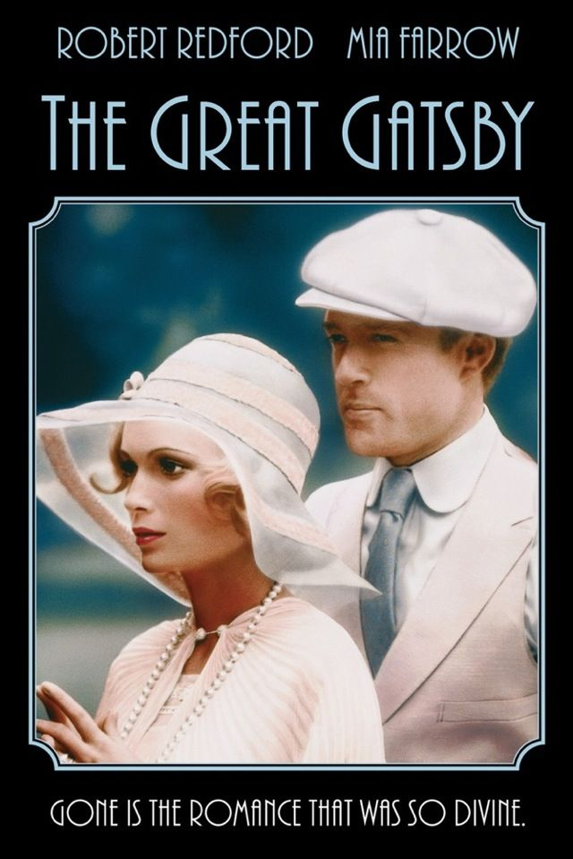 """Some of the scenes for the 1974 movie, """"The Great Gatsby"""", were filmed in Uxbridge, Massachusetts, around the Stanley Woolen Mill area. Starring, Robert Redford, as Jay Gatsby, and Mia Farrow, as Daisy Buchanan. ~ {cwl}"""