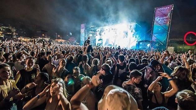 Ghost Spotted In Background Of Goodlife Festival Photo  - Yahoo7