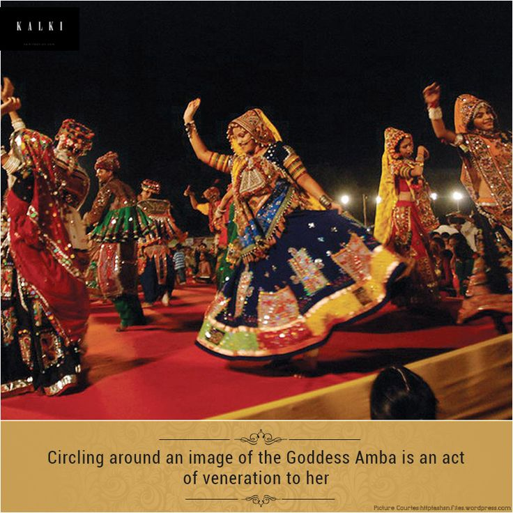 Did you know why the traditional dance 'Garba' is performed?