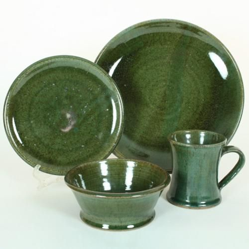 rustic dinnerware lodge 16 piece set | Jasper 4-Piece Dinnerware Set at Rocky Mountain & 10 best Rustic dinnerware images on Pinterest | Dish sets Rustic ...