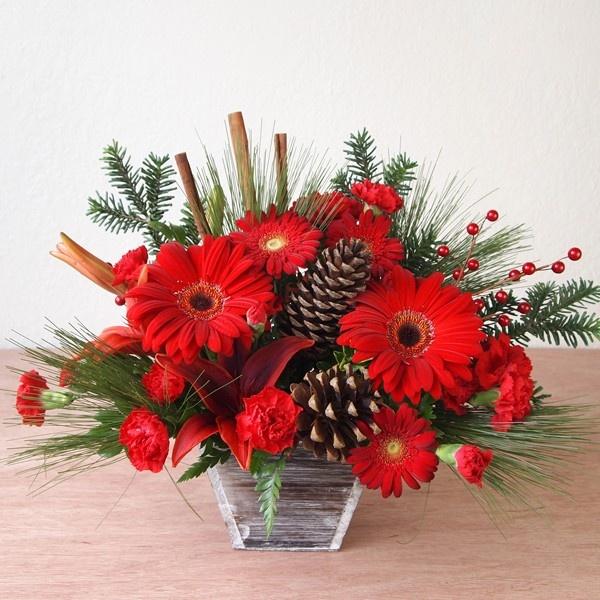 Winter Box by Ben White Florist.