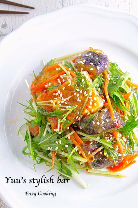 あの味を自宅で♡デパ地下のお惣菜を完全再現ベスト7選 - Locari(ロカリ) ③まるでイカ!ちくわとナスのスイートチリソース
