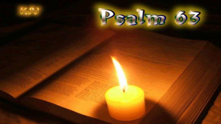 (19) Psalm 63 - Holy Bible (KJV)