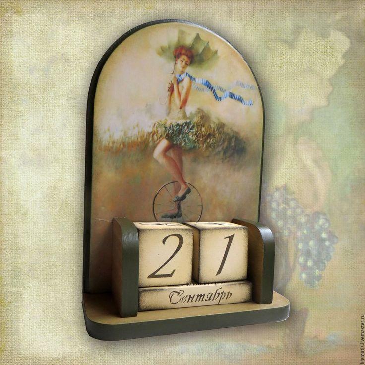 Картинки для вечного календаря декупаж